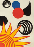 Fine Art - Work on Paper:Print, Alexander Calder (American, 1898-1976). La MémoireElémentaire, circa 1976. Lithograph in colors. 28 x 20 inches(71.1 x...