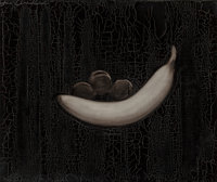 Joe Andoe (American, b. 1955) Banana with Black Plums, 1992 Oil on canvas 30 x 36 inches (76.2 x