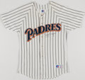 Baseball Collectibles:Uniforms, Tony Gwynn Signed Sand Diego Padres Jersey....