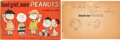 Memorabilia:Miscellaneous, Good Grief, More Peanuts Charles Schulz Autographed Book with Lucy and Snoopy Sketch (Rinehart and Company, 1957). ...