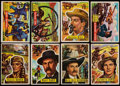 """Non-Sport Cards:Sets, 1956 Topps Western """"Round-Up"""" Complete Set (80)...."""