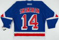 Hockey Collectibles:Others, Brendan Shanahan Signed New York Rangers Jersey. ...
