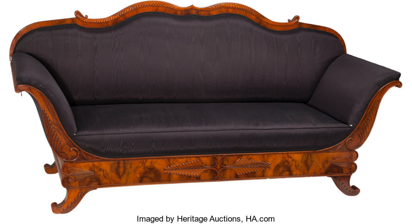 Prime A South German Biedermeier Sofa Of The Circle Of Wilhelm Short Links Chair Design For Home Short Linksinfo