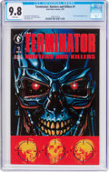 Modern Age (1980-Present):Science Fiction, The Terminator: Hunters and Killers #1 (Dark Horse, 1992) CGC NM/MT9.8 White pages....