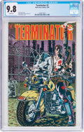 Modern Age (1980-Present):Science Fiction, The Terminator #2 (Now Comics, 1990) CGC NM/MT 9.8 White pages....
