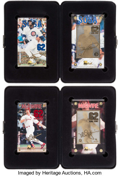 Authentic Images Home Run Record Breakers Mark Mcgwire