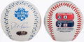 Autographs:Baseballs, David Freese Single Signed 2012 All-Star Baseball withCommemorative Display Case....