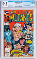 Modern Age (1980-Present):Superhero, The New Mutants #87 (Marvel, 1990) CGC NM/MT 9.8 White pages....