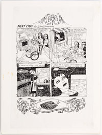 Dame Darcy Meat Cake #9 1-Page Story Original Art (Fantagraphics, 1999)