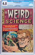 Golden Age (1938-1955):Science Fiction, Weird Science #12 (#1) (EC, 1950) CGC VG 4.0 Cream to off-whitepages....