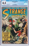 Golden Age (1938-1955):Science Fiction, Strange Worlds #3 (Avon, 1951) CGC VG+ 4.5 Off-white to whitepages....