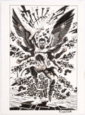 Original Comic Art:Splash Pages, Bruce Zick Mandala Graphic Novel Story Page 18 Original Art(Dark Horse, 2014). ...
