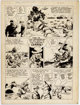 Fred Ray Action Comics #48 Story Page 4 Congo Bill Original Art (DC, 1942)