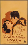 """Movie Posters:Drama, The Woman from Moscow (Paramount, 1928). Window Card (14"""" X 22"""").Drama.. ..."""