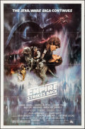 "Movie Posters:Science Fiction, The Empire Strikes Back (20th Century Fox, 1980). Flat Folded OneSheet (27"" X 41"") Style A. Science Fiction.. ..."