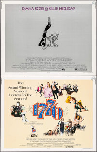 """1776 & Others Lot (Columbia, 1972). Half Sheets (4) (22"""" X 28""""). Musical. ... (Total: 4 Items)"""