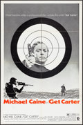 "Movie Posters:Crime, Get Carter (MGM, 1971). One Sheet (27"" X 41"") Style B & LobbyCard Set of 8 (11' X 14""). Crime.. ... (Total: 9 Items)"