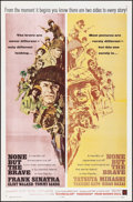 "Movie Posters:War, None But the Brave (Warner Brothers, 1965). One Sheet (27"" X 41"")Howard Terpning Artwork. War.. ..."