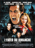"Movie Posters:Sports, Any Given Sunday (Warner Brothers, 1999). French Grande (45.75"" X 62""). Sports.. ..."