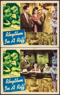 "Movie Posters:Black Films, Rhythm in a Riff (Astor Pictures, 1947). Lobby Cards (2) (11"" X14""). Black Films.. ... (Total: 2 Items)"