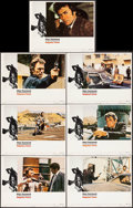 """Movie Posters:Action, Magnum Force (Warner Brothers, 1973). Lobby Cards (7) (11"""" X 14"""").Action.. ... (Total: 7 Items)"""