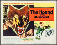 """The Hound of the Baskervilles (United Artists, 1959). Title Lobby Card (11"""" X 14""""). Mystery"""