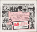 """Movie Posters:Rock and Roll, The T.A.M.I. Show (American International, 1964). Half Sheet (23"""" X 27""""). Rock and Roll.. ..."""