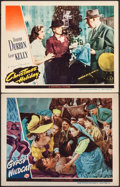 "Movie Posters:Adventure, Gypsy Wildcat & Other Lot (Universal, 1944). Lobby Cards (2)(11"" X 14""). Adventure.. ... (Total: 2 Items)"