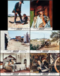 "Movie Posters:Western, For a Few Dollars More (United Artists, 1967). French Color Photos(6) (10.5"" X 14.25""). Western.. ... (Total: 6 Items)"