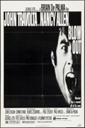 "Movie Posters:Mystery, Blow Out (Filmways, 1981). One Sheet (27"" X 41"") & Lobby Card(11"" X 14""). Mystery.. ... (Total: 2 Items)"