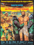 """Movie Posters:Science Fiction, Planet of the Apes (20th Century Fox, 1968). French Affiche (22.5""""X 30""""). Science Fiction.. ..."""