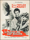 "Movie Posters:Mystery, The House of the Seven Hawks & Other Lot (MGM, 1961). FrenchMoyennes (2) (22.75"" X 30.5"" & 23.5"" X 31.5""). Mystery.. ...(Total: 2 Items)"