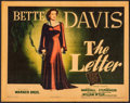 "Movie Posters:Film Noir, The Letter (Warner Brothers, 1940). Linen Finish Title Lobby Card(11"" X 14""). Film Noir.. ..."