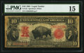 Large Size:Legal Tender Notes, Fr. 122 $10 1901 Legal Tender PMG Choice Fine 15.. ...
