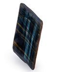 Lapidary Art:Carvings, Polished Tiger's Eye. South Africa. 6.10 x 2.96 x 2.38 inches(15.50 x 7.52 x 6.05 cm). ...