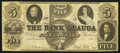 Obsoletes By State:Ohio, Painesville, OH- Bank of Geauga at Painesville Counterfeit $5 Aug.4, 1858. ...