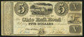 Obsoletes By State:Ohio, City of Ohio, OH- Ohio Rail Road $5 June 1, 1840. ...