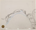 Animation Art:Production Drawing, Doctor Seuss's How the Grinch Stole Christmas Grinch and MaxAnimation Drawing (MGM, 1966). ...
