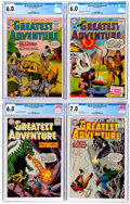 Silver Age (1956-1969):Adventure, My Greatest Adventure CGC-Graded Group of 4 (DC, 1955-62) CGC FN 6.0.... (Total: 4 Comic Books)