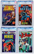 Bronze Age (1970-1979):Miscellaneous, DC Bronze and Modern Age CGC-Graded First Issues Group of 4 (DC,1975-86) CGC NM 9.4.... (Total: 4 Comic Books)