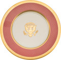 Political:Presidential Relics, Ronald Reagan: White House China....