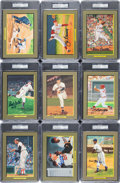 Baseball Collectibles:Others, 1984-97 Perez-Steele Great Moments Signed Cards Lot of 66....