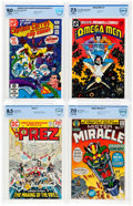 Bronze Age (1970-1979):Miscellaneous, DC Bronze and Modern Age CBCS-Graded Comics Group of 4 (DC,1971-83).... (Total: 4 Comic Books)