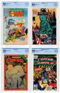 Bronze Age (1970-1979):Miscellaneous, Comic Books - Assorted Bronze and Modern Age CBCS-Graded ComicsGroup of 4 (Various Publishers, 1973-87).... (Total: 4 Comic Books)