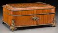 Jewelry:Boxes, A French Marquetry Jewelry Box, late 19th century. 6-1/8 h x 13-1/2 w x 9-3/4 d inches (15.6 x 34.3 x 24.8 cm). ...