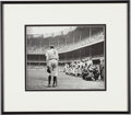 "Baseball Collectibles:Photos, 1948 ""The Babe Bows Out"" Pulitzer Prize-Winning OriginalPhotograph, PSA/DNA Type 1...."