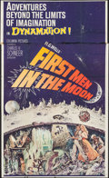 """Movie Posters:Science Fiction, First Men in the Moon (Columbia, 1964). Partial Three Sheet (41"""" X 69.75""""). Science Fiction.. ..."""