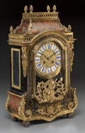 Clocks & Mechanical:Clocks, A Louis XVI-Style Faux Boulle Figural Bracket Clock. 18-1/4 h x 10-3/4 w x 5 d inches (46.4 x 27.3 x 12.7 cm). ...