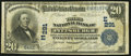 National Bank Notes:Pennsylvania, Pittsburgh, PA - $20 1902 Date Back Fr. 642 The Third NB Ch. # (E)291. ...