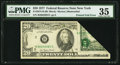 Error Notes:Foldovers, Printed Fold Error Fr. 2072-B $20 1977 Federal Reserve Note. PMG Choice Very Fine 35.. ...